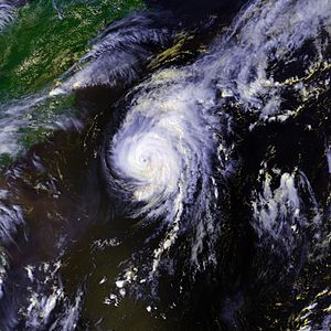 1998 Atlantic hurricane season - Image: Hurricane Danielle 01 sept 1998 1858Z