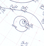 Hurricane Florence surface analysis July 16, 1963.png