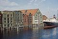"Hurtigruteskipet DS ""Saltdal"" i Nidelva (ca. 1955).jpg"