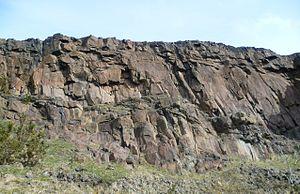 James Hutton - Hutton's Section on Edinburgh's Salisbury Crags