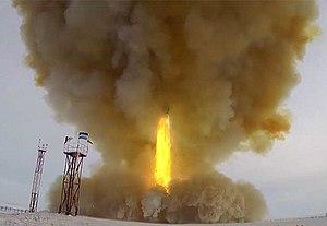 Avangard (hypersonic glide vehicle) - Wikipedia