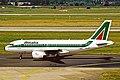 I-BIMJ A319-112 Alitalia DUS 03AUG03 (8638921239).jpg
