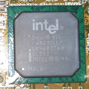 Northbridge (computing) - Intel i815EP northbridge