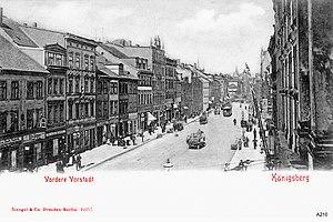 Vorstadt (Königsberg) - Image: ID003305 A210 Vord Vorstadtgg