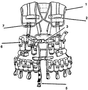 Individual Integrated Fighting System - IIFS Ammunition Carrying Vest