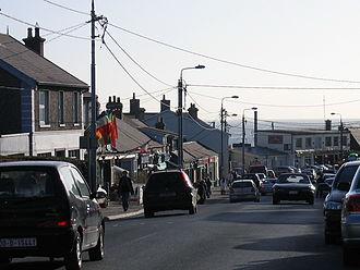 Greystones - Main Street wirescape