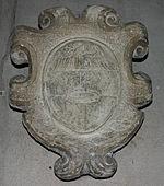 IMG 6192 - Milano - Sant'Eustorgio - Stemma del vescovo e inquisitore Melchiorre Crivelli (1561) - Foto Giovanni Dall'Orto - 3-3-2007.jpg