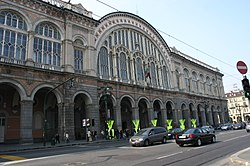 Station building wikipedia - Torino porta nuova stazione ...