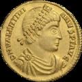 INC-1558-a Солид Валентиниан I ок. 364-367 гг. (аверс).png