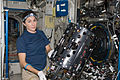 ISS-20 Nicole Stott works with the Combustion Integrated Rack.jpg