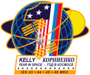 ISS Yearlong mission patch