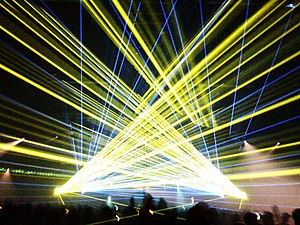 I Love Techno - I Love Techno 2009 lasershow