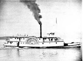 sidewheeler steamboat