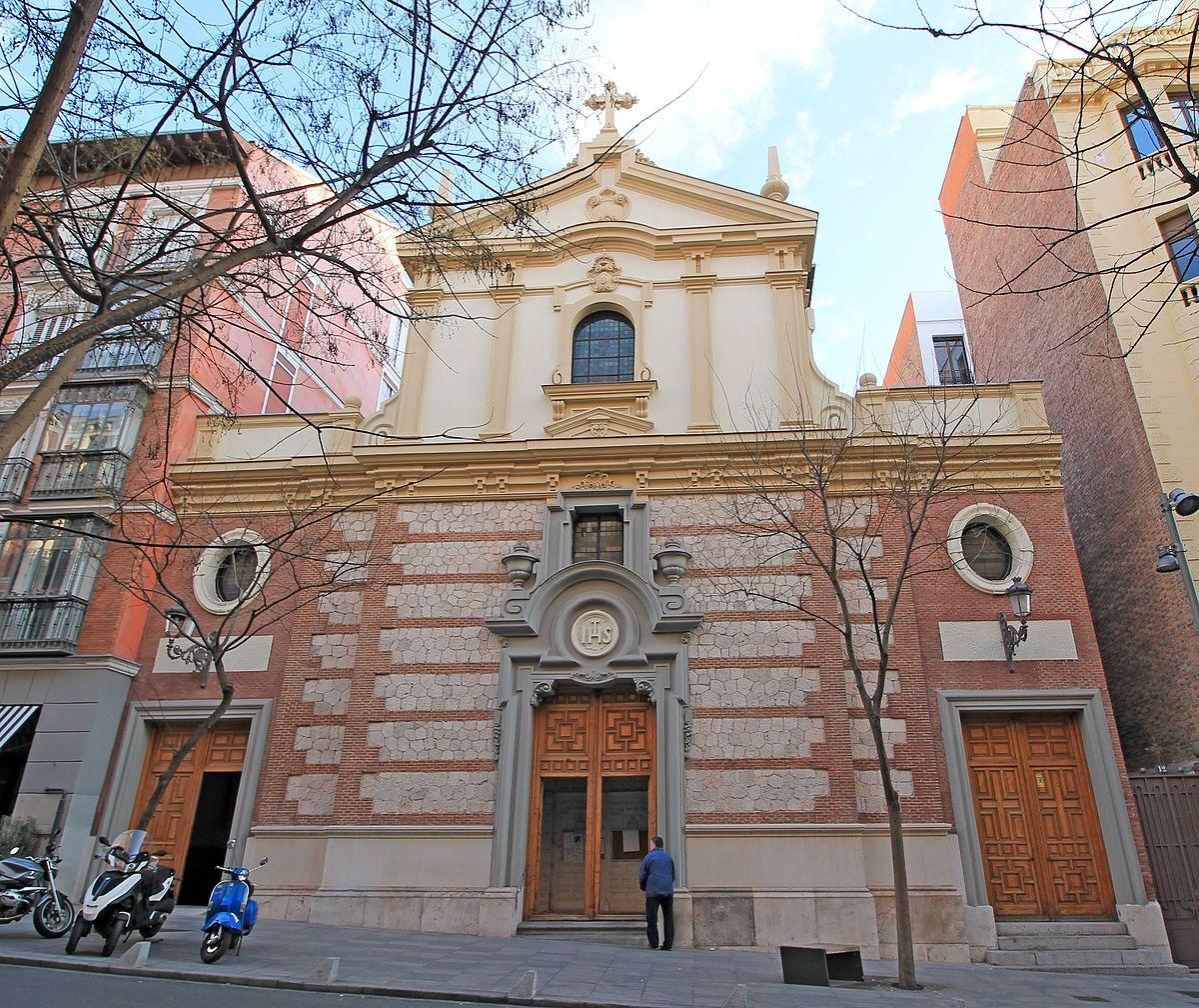 Iglesia del santo cristo de la salud wikidata for Biblioteca iglesia madrid