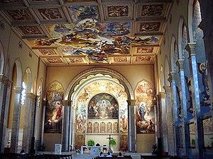 Aldo Locatelli - Interior of the São Pelegrino's Church in Caxias do Sul.