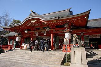 Chūō-ku, Kobe - Image: Ikuta jinja Kobe 07n 4272