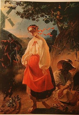 Шевченко Т. Г., 1842, «Катерина». Масло