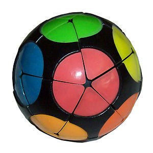 Impossiball - The Impossiball in its solved state.