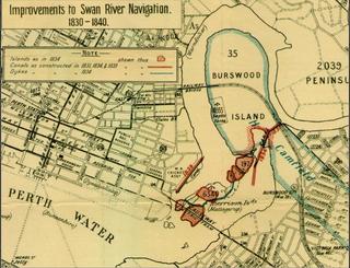 Burswood canal