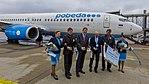 Inaugural flight Pobeda DP820 - Cologne Bonn - Moscow-Vnukovo 2016-7157.jpg
