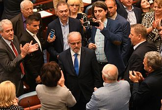 Talat Xhaferi - Inauguration of Talat Xhaferi as Speaker of the Assembly of North Macedonia