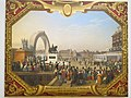Inauguration of the equestrian statue of king Henri IV in 1818 (Louvre, MV 1781).jpg