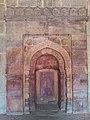 Incription on wall Inside Isa Khan Niyazi's tomb mosque in Delhi.jpg