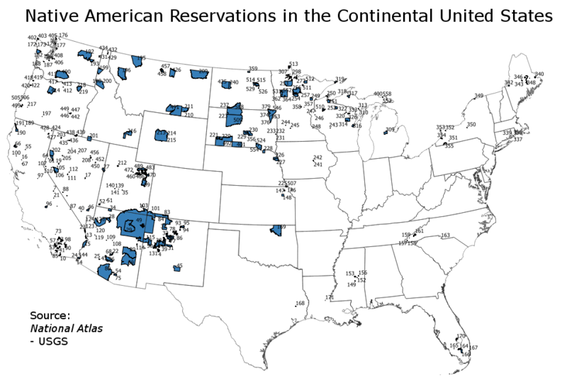 File:Indian reservations in the Continental United States.png