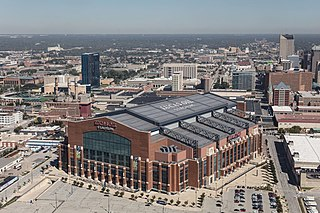 Lucas Oil Stadium Home venue of Indianapolis Colts