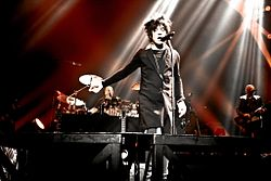 Indochine performing in the Meteor Tour, 2009