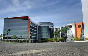 Infosys - Main block in Chennai campus