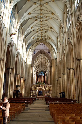 Nave of York Minster. Inside York Minster.jpg