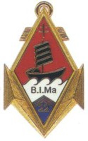 22nd Marine Infantry Regiment - Image: Insigne du 22e B.I.Ma
