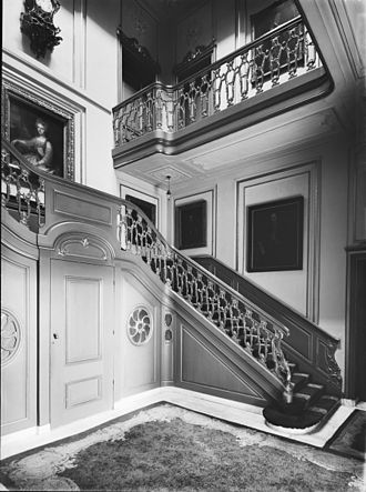Lange Voorhout Palace - Main staircase (1937)