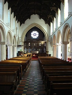 Interior, St. Nicholas' Church, Castle Hedingham - geograph.org.uk - 562800.jpg