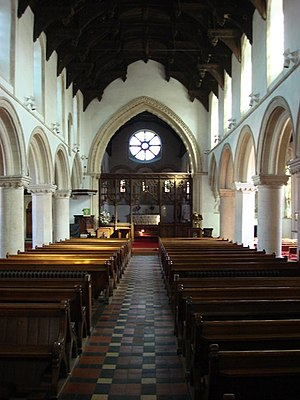 Castle Hedingham - Interior of St. Nicholas' Church