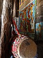 Interior Detail of Debre Maryam (Church) - Near Bahir Dar - Ethiopia - 01 (8679563135).jpg