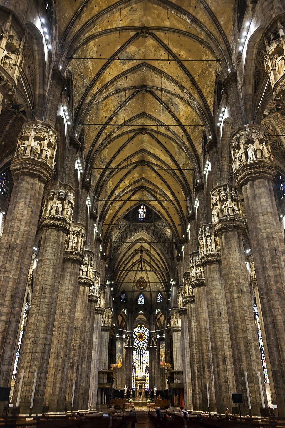 Interior of Il Duomo, Milan