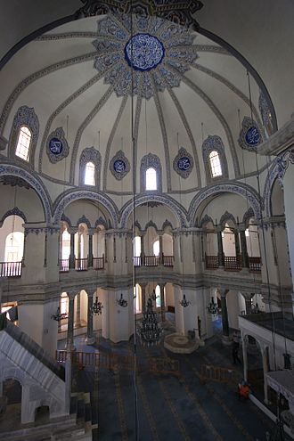 Little Hagia Sophia - General view from the gallery. Looking south-west