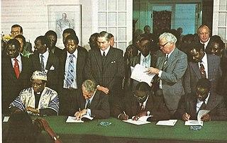 Internal Settlement 1978 agreement in Rhodesia