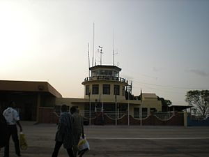 Kumasi Airport - Kumasi International Airport's Airport Traffic Control Tower (ATCT).
