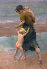 Into the water, by Virginie Demont-Breton.jpg