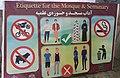 Irán (RPS 13-10-2019) normas para entrar a la mezquita.jpg