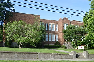 National Register of Historic Places listings in Estill County, Kentucky - Image: Irvine Grade School