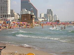 Tel Aviv Promenade - Image: Israel Tel Aviv Beach 001