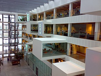 IT University of Copenhagen - The interior design work at the IT University of Copenhagen