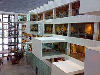 IT University of Copenhagen - The interior design work at the IT University of Copenhagen