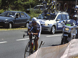 Ivan Basso - Basso during the 2003 Tour de France.