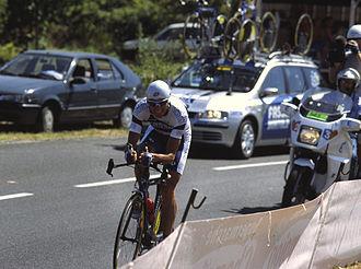 Ivan Basso - Basso during the 2003 Tour de France.