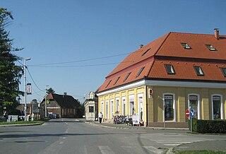 Ivanić-Grad Town in Zagreb, Croatia